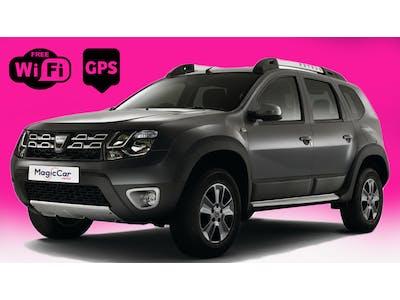 Dacia Duster 4x4 FREE GPS & 4G WIFI 2015