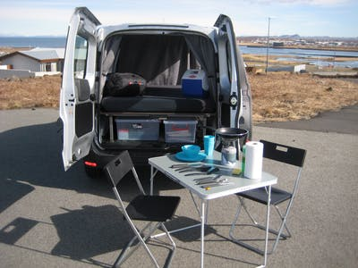 Dacia Dokker Campervan mit Heizsystem 2016