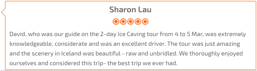 ice cave local tour comment