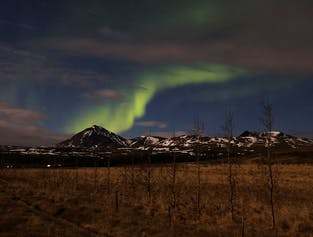 Zorza polarna | Kąpiel i kolacja w geotermalnych źródłach Krauma