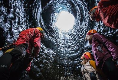 The Secret Ice Cave from Reykjavík