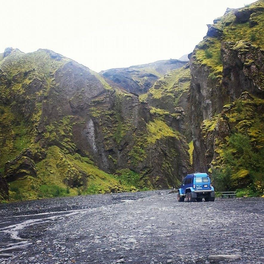 冰岛六月徒步