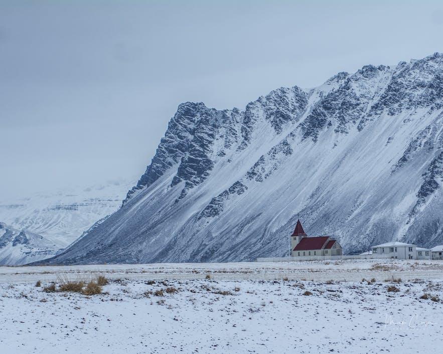 冰岛一月的天气