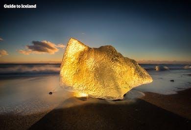Sud, Jokulsarlon et sa plage de diamants | Sortie privatisée en super jeep