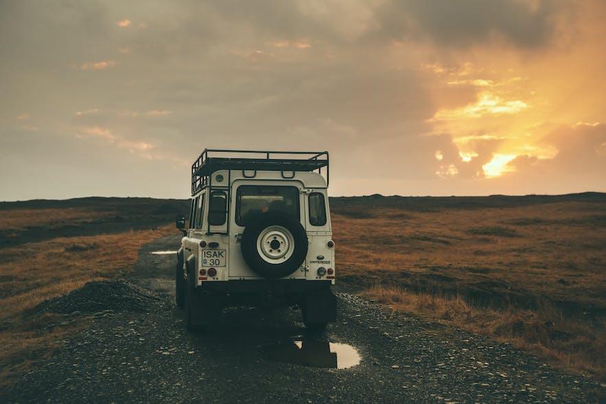 冰岛开车自驾需要性能良好的车型