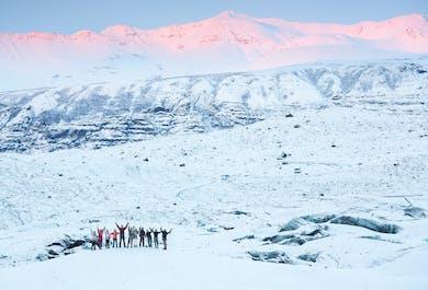 Aventura de exploración glaciar desde el parque nacional Skaftafell