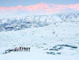 Lange Gletscherwanderung in Skaftafell   3,5 Stunden auf dem Eis
