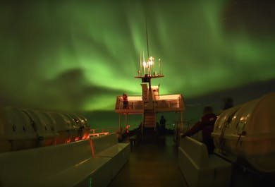 Dinner & Auroras | Northern Lights Boat Tour