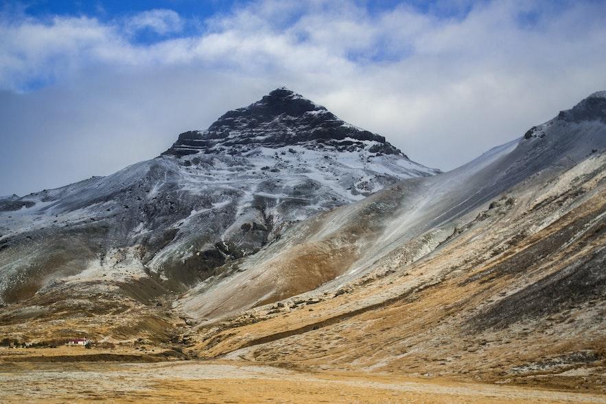 冰島四月斯奈山半島