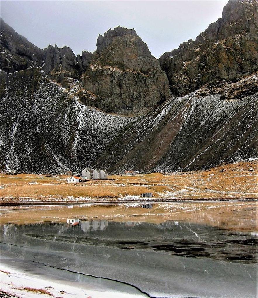 冰島四月景觀