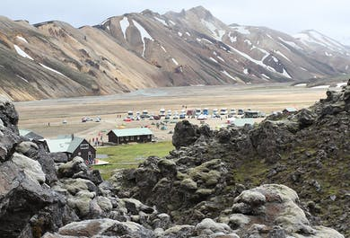 Hiker's Ride To Landmannalaugar | One-Way Bus Ticket