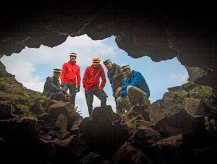 Whale Watching & Lava Cave Exploration