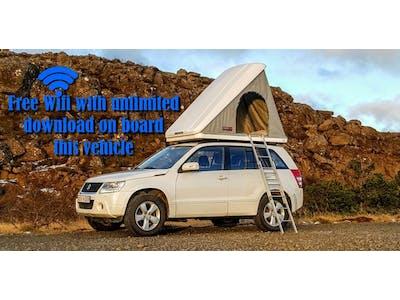 Suzuki  Grand Vitara Automatik + Dachzelt 2014