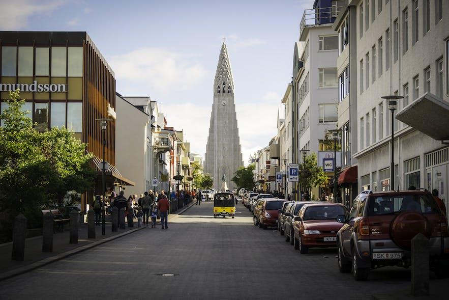 Hallgrímskirkja is a Lutheran Parish Church and one of Reykjavik's main landmarks.