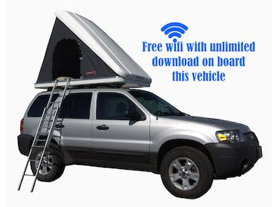 Ford  Escape + Roof Top Tent Automatic 2006