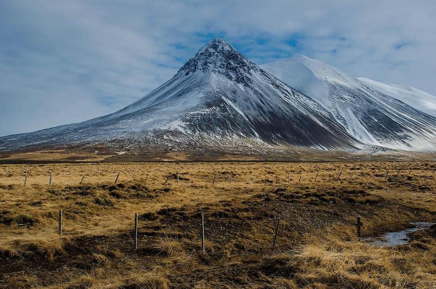 春季冰島景色