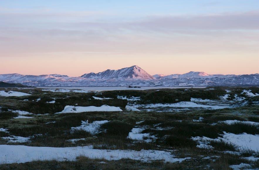 冰岛米湖火山冰川的体验