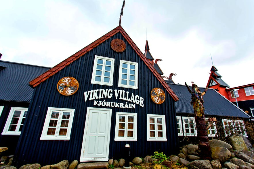 The Viking Village in Hafnarfjörður is open year-round