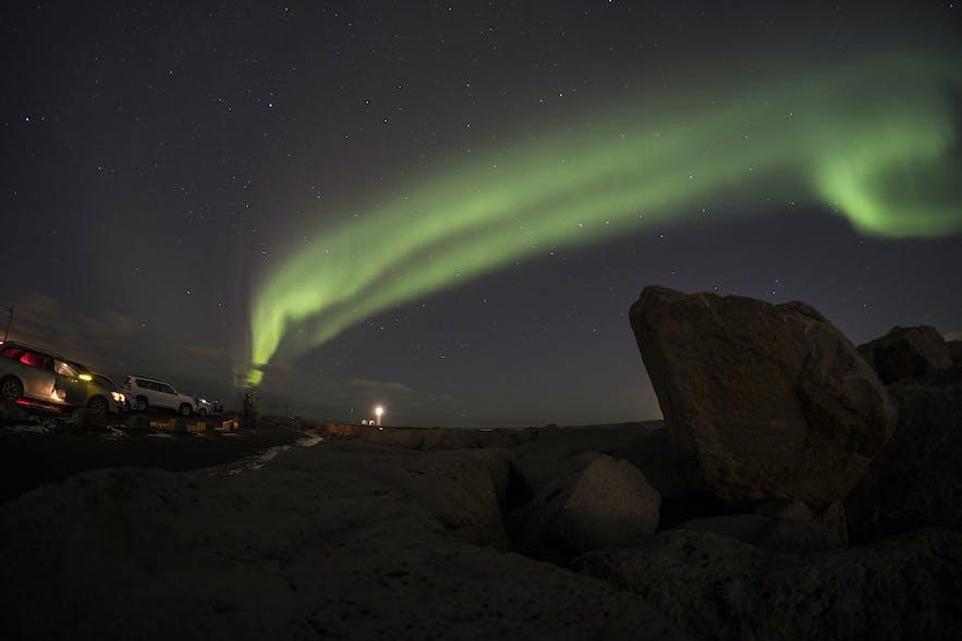 Leuchtturm Grotta nahe Reykjavik