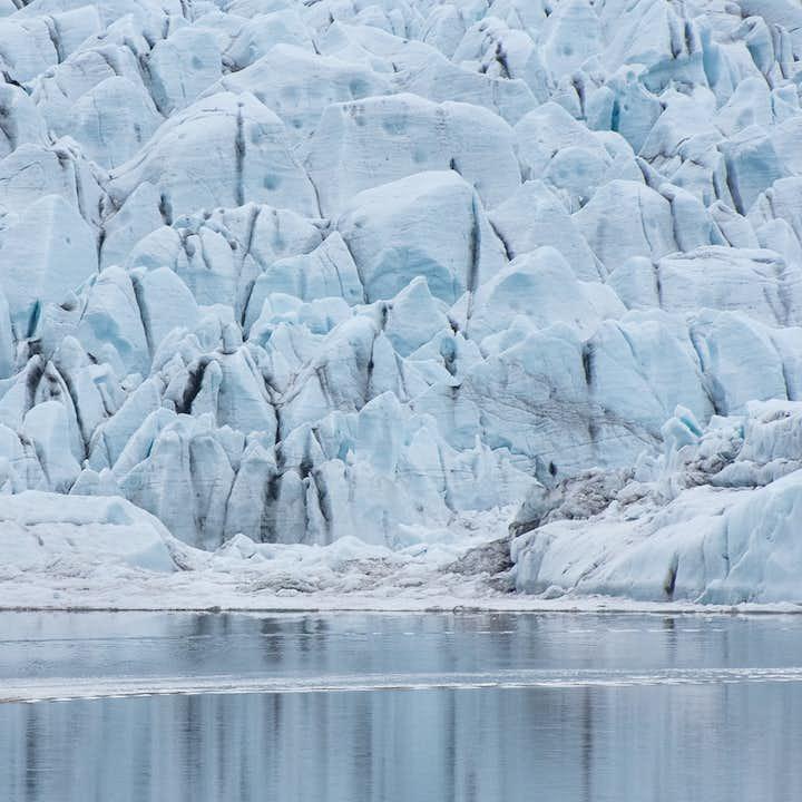 Bådtur i Fjallsárlón-gletsjerlagunen