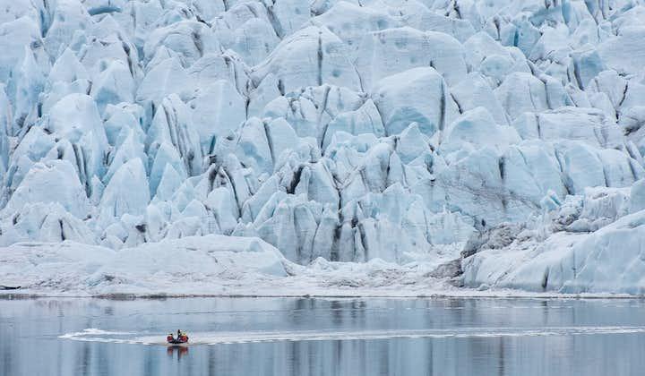 Boottocht op de gletsjerlagune Fjallsárlón