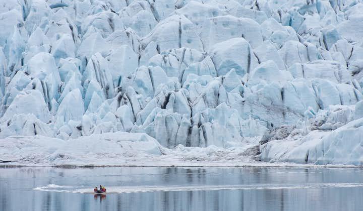 Fjallsárlón冰河湖船游 自驾参团