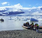 Your tour guide will steer your boat through this glacier lagoon and give you unique insight into the nature and history of Fjallsárlón.