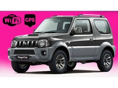 Suzuki Jimny 4x4 GPS et Wifi gratuits 2015