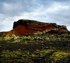 Rauðhólar (the Red Hills) are found just out of Reykjavík.
