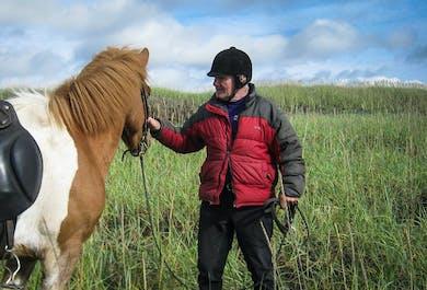 Horse Riding Tour   Departure from Thorlakshofn