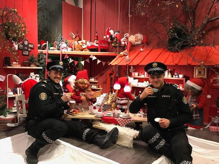 冰岛警察的惬意生活