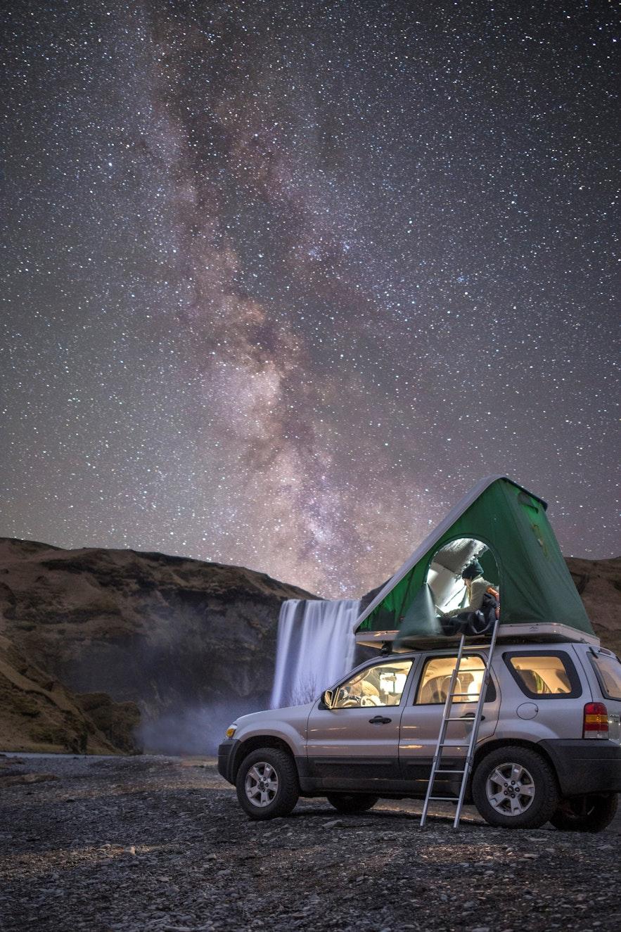 冰島露營車