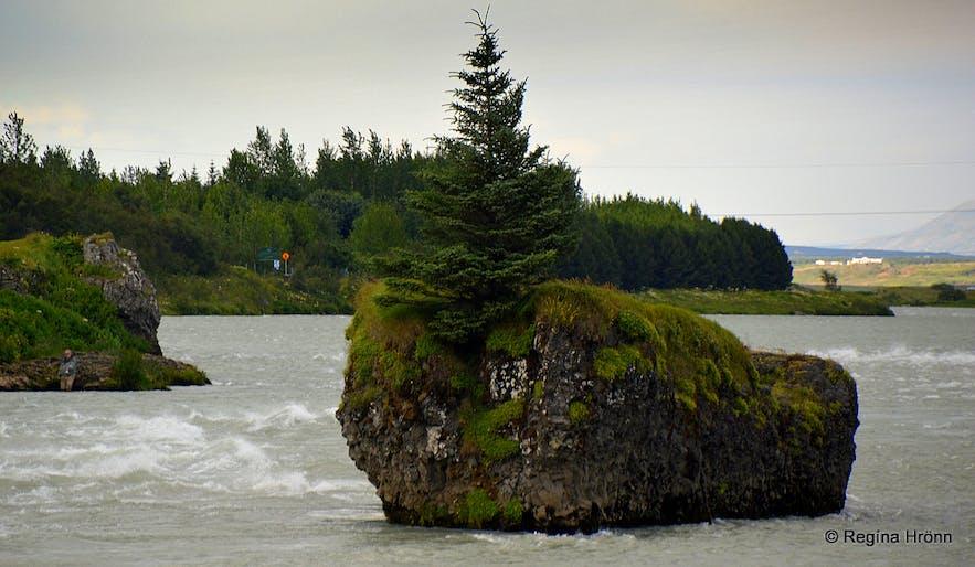 Ölfusá river South-Iceland