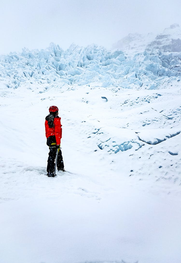 Iceland's glaciers open up a world of adventure, whether you are glacier hiking, ice caving in winter, or taking a boat tour on Jökulsárlón in summer.