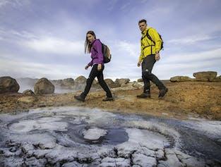 Gorące źródła i jaskinia lawowa   Łatwa wycieczka jednodniowa