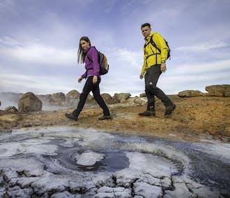 Heiße Quellen und Lava-Höhlen-Tour