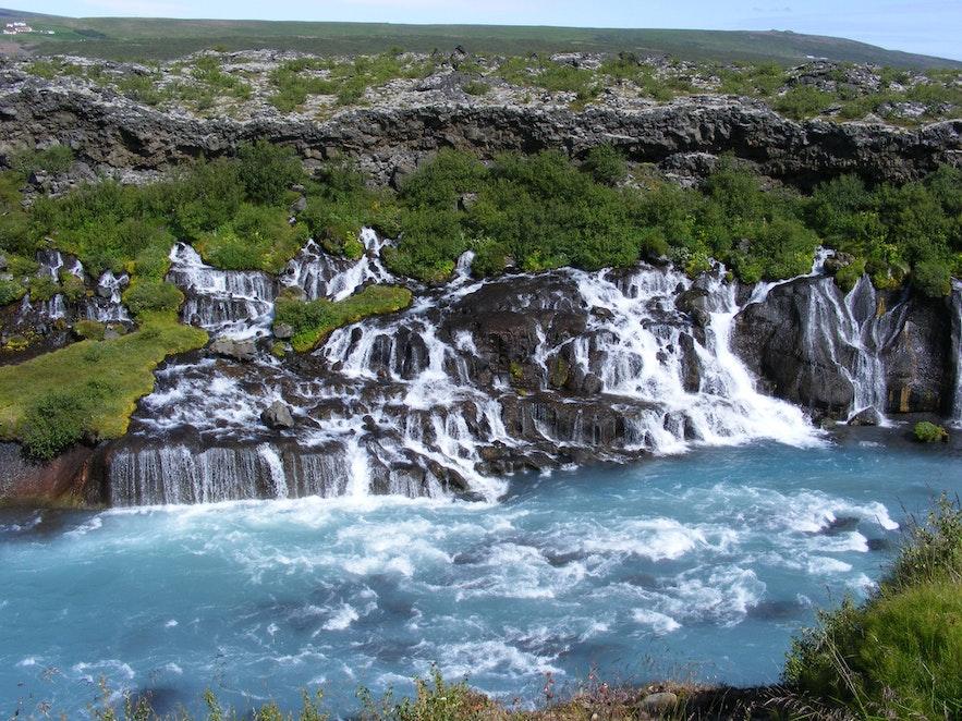 熔岩瀑布群 冰島