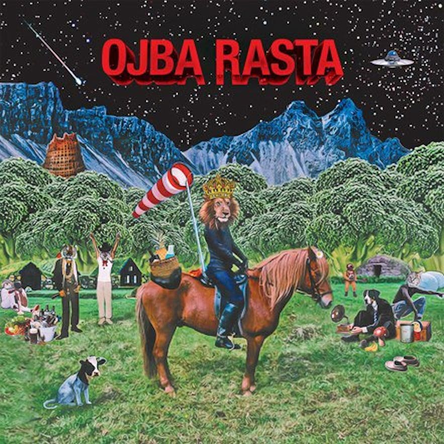 Ojba Rasta's visceral album covers only hint at the colour and energy of this band's musical output.