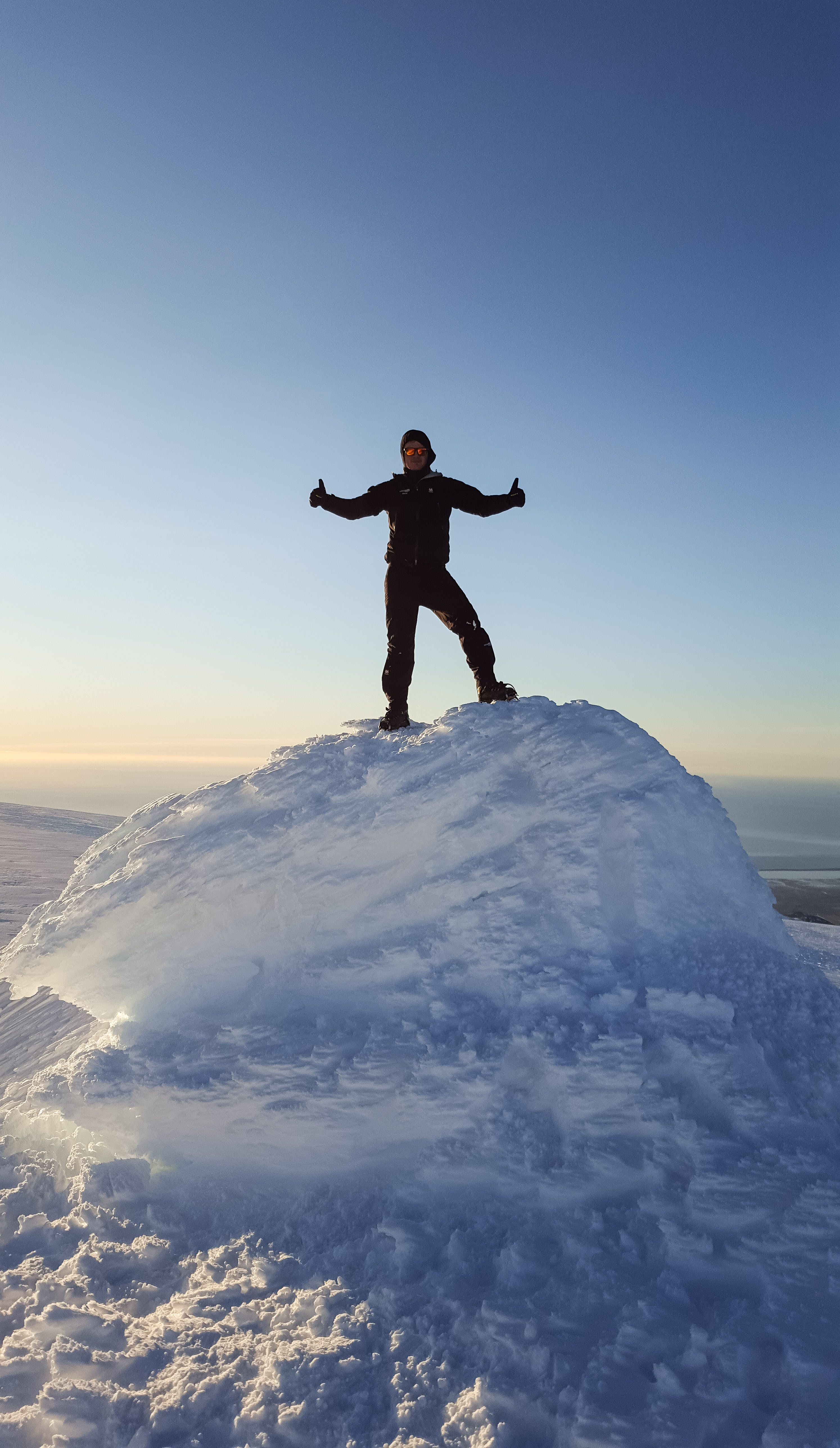 Explore the summit of the notorious Eyjafjallajökull glacier and volcano.