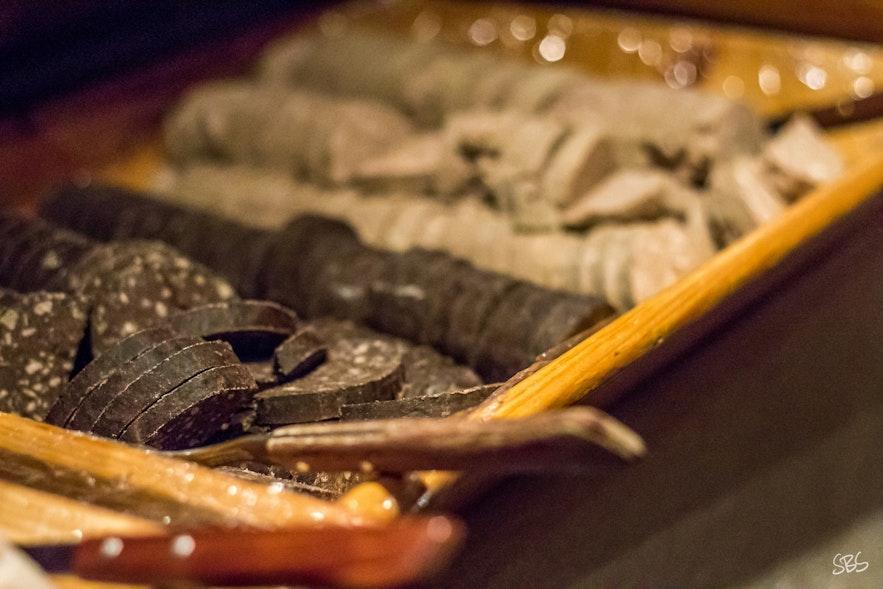 슬라우튀르, 아이슬란드 식 피순대