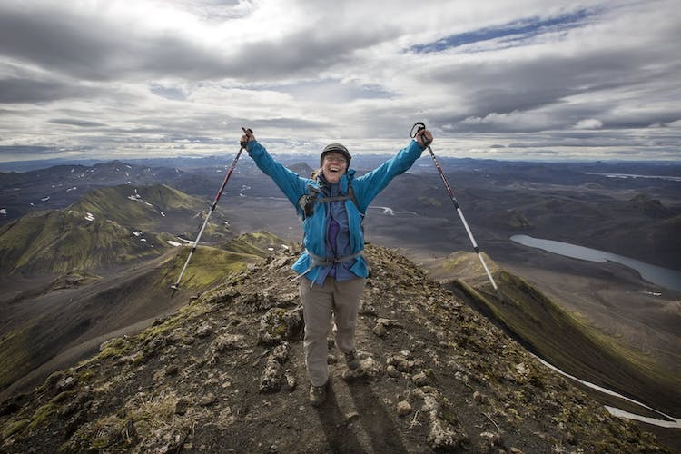 Hiking through the Highlands of Iceland is a once in a lifetime experience and the perfect outdoor adventure.