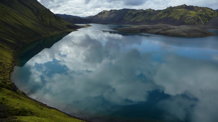 The incredible lake Langisjór in the Highlands of Iceland was only discovered in the 19th Century due to its location.