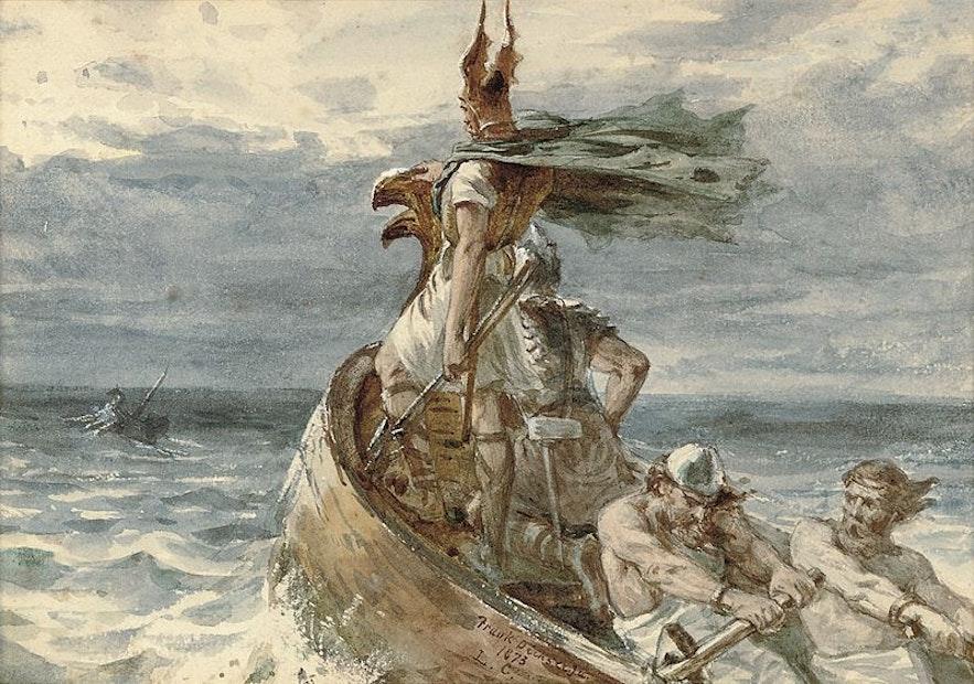 Die Wikinger waren stolze und furchterregende Seefahrer, berüchtigt für Überfälle und Plünderungen früher europäischer Königreiche.