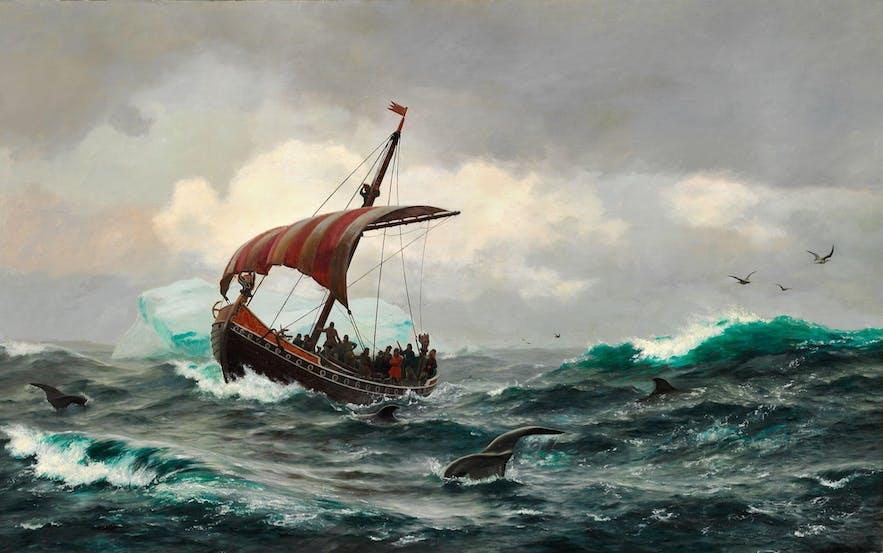 Wer waren die frühen Wikinger-Siedler, die Islands Küste erreichten, und wer waren die Götter, die sie verehrten?