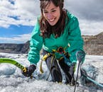 You'll get to scale the ice on this ice caving tour of Sólheimajökull glacier