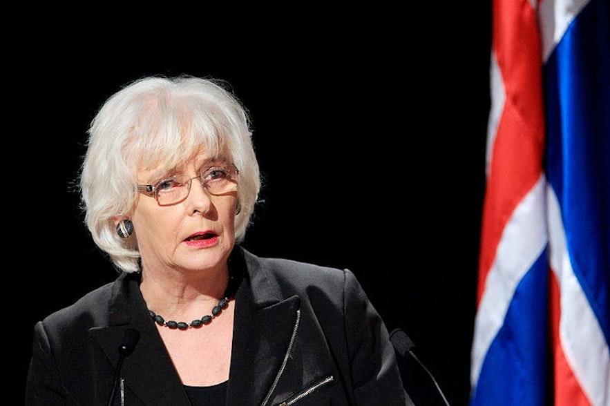 Jóhanna Sigurðardóttir was the world's first openly gay leader.