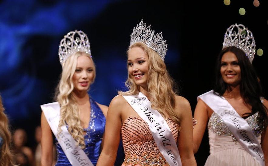 Cette concurrente de Miss Islande a effectivement quitté la compétition en raison de la honte corporelle