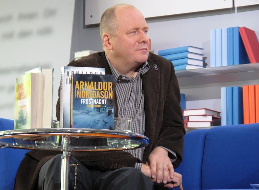 Iceland's most popular authors internationally at the moment is Arnaldur Indriðason.
