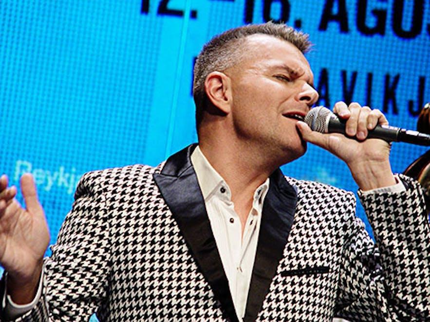 Páll Óskar in 2015.