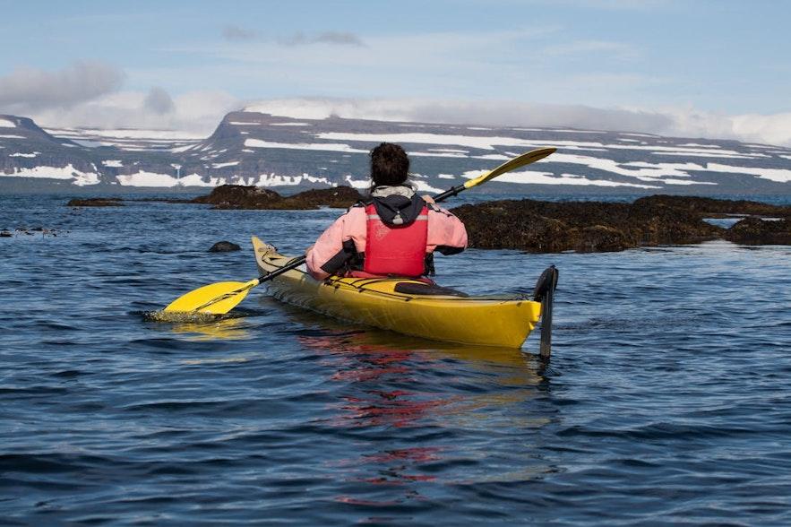 冰島獨木舟